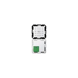 591803 Gira Abstelltaster mit Sprachfunktion System 55 Reinweiß Produktbild
