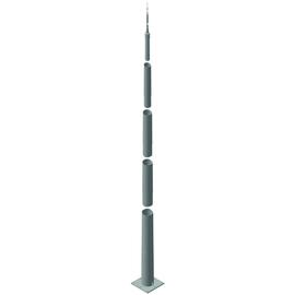 103013 Dehn Tele Blitzschutzmast ÜFL 13,35m Produktbild
