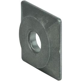 525001 Dehn Druckplatte Al 40x40x6mm m. B 13mm Produktbild