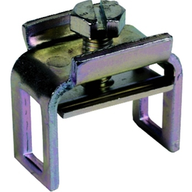 563012 Dehn Reihenklemme Fl  30x4mm f. PAS St/gal Zn Produktbild