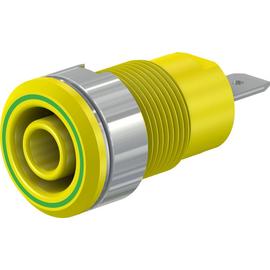 49.7044-20 Multi-Contact SLB4-F/N-X 4 mm Sicherheitsbuchse grün/gelb Produktbild