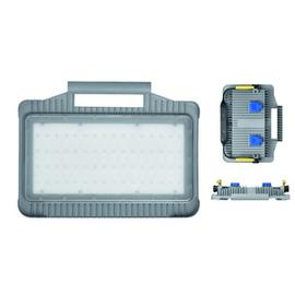 720.035 BACHMANN LED Strahler Magnum Futur 32W IP44 mit 2xSchukosteckdose Produktbild