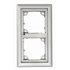 MX-OPT-Frame-2-EXT-SV Mobotix 2er Rahmen silberfarben Produktbild