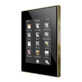 "ZVI-Z41PRO-WP Zennio EIB/KNX Touchpanel 4,1"" Farb-Touchdisplay inkl. LAN Weiss Produktbild"