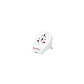 SKR1500260 Skross Traveladapter World to Europe USB Produktbild