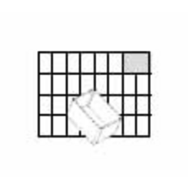105590 Raaco Einsatz 55 A8-1 transparent Produktbild