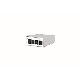 130861-0402KE Metz Connect Keystone AP Geh 4 Port Produktbild