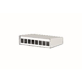 130861-0802KE Metz Connect Keystone AP Geh 8 Port Produktbild