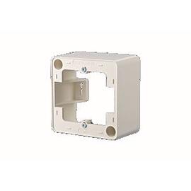 130829-4302-I Metz Connect Aufputzrahmen43x85X85 r.weiß Produktbild
