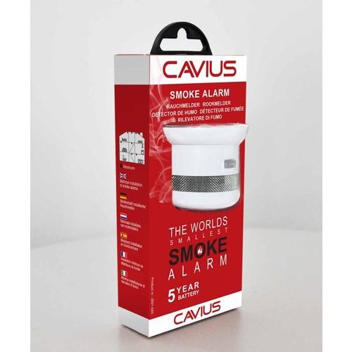 S05-1-1000 Cautiex Rauchmelder Invisible 5Y 4x4,5cm (5-Jahresbatterie wechselbar) Produktbild
