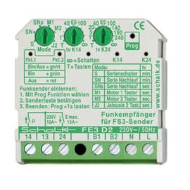 fe3d29 Schalk Funk-Empfänger 2-Schließer 230V AC (UP) Produktbild