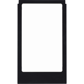 13202245 Berker BERKER R.3 Rahmen Elcom Video eckig schwarz glänzend Produktbild
