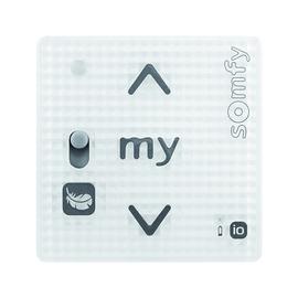 1811318 Somfy Smoove RS100 io Pure Shine, 1 Kanal Wandsender o.Rahmen Produktbild