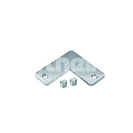 62399936 Barthelme Eckverbinder 90°, Metall, inkl. 2 Madenschrauben Produktbild