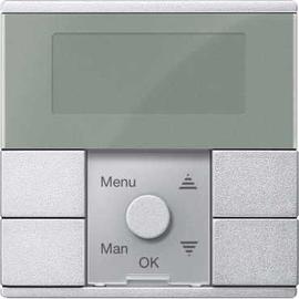 MEG5754-0460 Merten Zeitschaltuhr Mod Standard TPm alu SysM Produktbild