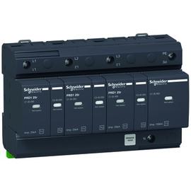16332 Schneider Elec. iPRD1  BL+Ü Abl. 3P+N+HK 25r Typ1+2(B+C) Produktbild