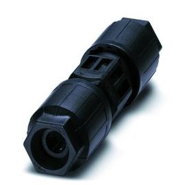 1403836 Phoenix QPD C 4PE2,5 2X9 16 BK Leitungsverbinder 5-polig (4+PE) Produktbild