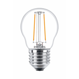57415700 Philips Classic LEDluster 2-25W E27 827 P45 klar 250lm klar Filament Produktbild