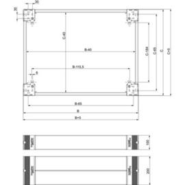 NSYSPS4200 Schneider Elec. SOCKEL SEITE H200 T400 Produktbild