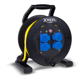 9350161-p PC-E Kabeltrommel XREEL310 4xSSD54+L 50m3G1.5N07 gelb Produktbild