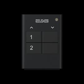 HS2RF Jung KNX Funk Handsender 2fach Produktbild