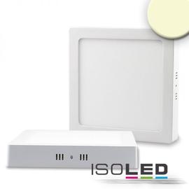 112360 Isoled LED Deckenleuchte weiß, 18W, quadratisch, 220x220mm, warmweiß Produktbild
