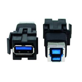 917.400 Bachmann Custom Modul 1 x USB 3.0 A/B Keystone Produktbild