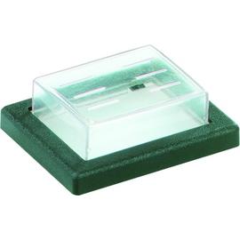 924.118 Bachmann PVC Kappen und Rahmen, Serie 22, für 2polig, klar/s Produktbild