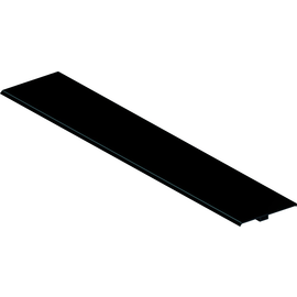 925.0049 Bachmann Klappe TOP FRAME 8 fach schwarz eloxiert Produktbild