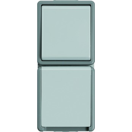 5TA4826 Siemens DELTA fläche IP44 Kombination Wechselschalter und Schuko Produktbild