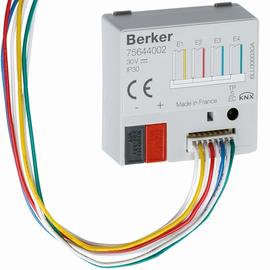 75644002 Berker BERKER KNX Tasterschnittstelle 4fach Up Produktbild