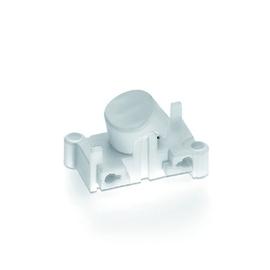 992401 Vossloh-Schwabe Einbau Wippschalter, weiß Produktbild
