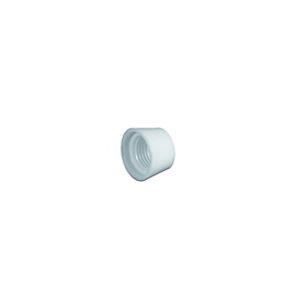 992410 Vossloh-Schwabe Überwurfmutter, weiß Produktbild