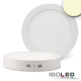 112358 Isoled LED Deckenleuchte weiß, 18W, rund, 220mm, warmweiß Produktbild