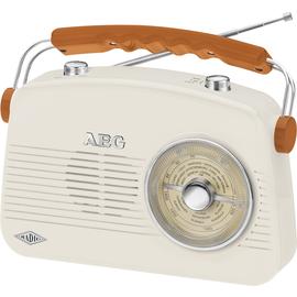 243007 AEG Audio NR 4155 Nostalgie Mono Radio Produktbild