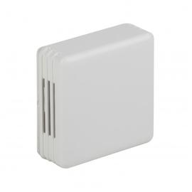 ZC002 Comexio AP Temp.-Feuchtesensor, 0-10V,12/24VUC,IP20, H71xB71xT27mm Produktbild