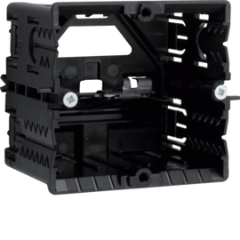 GLS5500 Tehalit Geräteeinbaudose C Profil HxB 55x65 schw Produktbild
