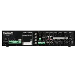 COM12 Audac Tischverstärker 120W 100V 6 Eingänge 5 Zonen schaltbar Produktbild