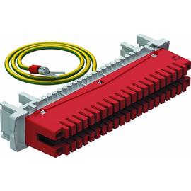 5084016 Obo LSA E LEI Erdungsleiste 34 polig für LSA Plus    rot Produktbild