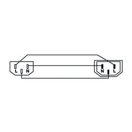 CAB480/1 Procab Kaltgeräteverlängerung C13/C14   1M Produktbild