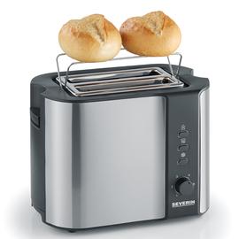 258900 Severin AT 2589 Automatik Toaster 2Scheiben Edelstahl/Schwarz 800W Produktbild