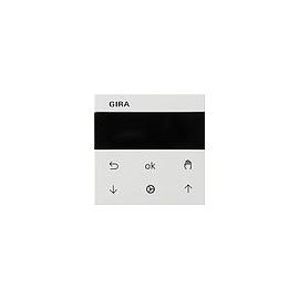 536603 Gira S3000 Jalousie- + Schaltuhr Display System 55 Reinweiß Produktbild