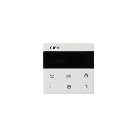 536627 Gira S3000 Jalousie- und Schaltuhr Display System 55 Reinw. matt Produktbild