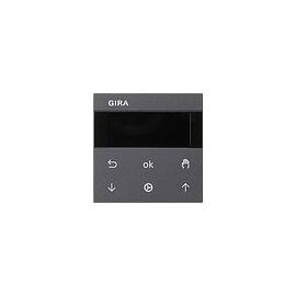 536628 Gira S3000 Jalousie- und Schaltuhr Display System 55 Anthrazit Produktbild