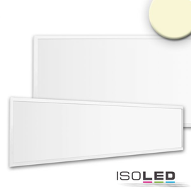 113268 Isoled LED Panel Business Line 1200 UGR19 2H, 36W, Rahmen weiß, warmwe Produktbild