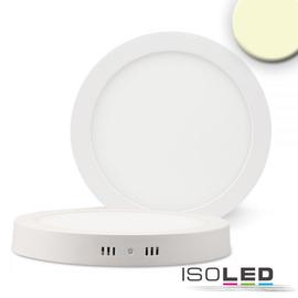 113330 Isoled LED Deckenleuchte weiß, 24W, rund, 300mm, warmweiß dimmbar Produktbild