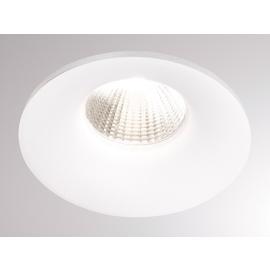 472-0260790403005 Tecnico IVY ROUND LED EB STRAHLER weiß matt RAL 9003 LED 7W Produktbild