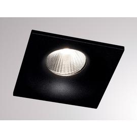 472-0270790403006 Tecnico IVY SQUARE LED EB STRAHLER schwarz matt RAL 9005 LED 7W Produktbild