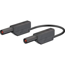 28.0124-10021 Multi-Contact SLK425-E 4mm Sicherheitsmessleitung 100cm schwarz Produktbild