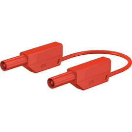 28.0125-10022 Multi-Contact SLK425-E/N 4mm Sicherheitsmessleitung 100cm rot Produktbild